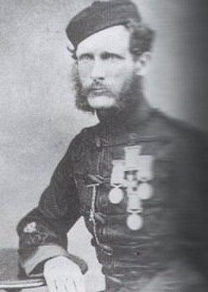 Stephen Garvin - Colour Sergeant Stephen Garvin