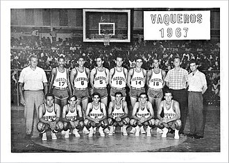 Vaqueros de Bayamón - (above) The Bayamon team's fourth championship (1967)