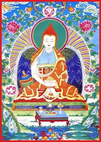 Vimalamitra - Thangka of Vimalamitra