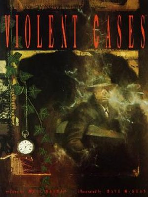 Violent Cases - Violent Cases, cover art by Dave McKean