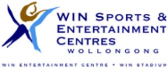 WIN Entertainment Centre - The centre's logo