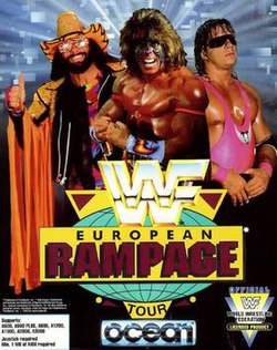 WWF European Rampage Tour - Front Cover.jpg
