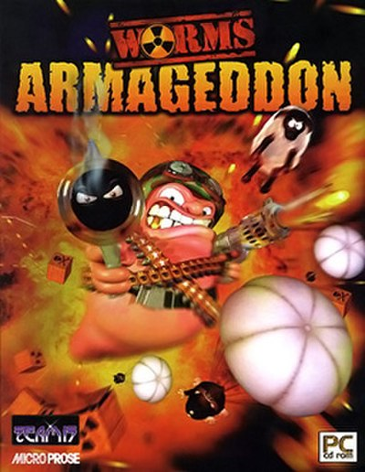 Picture of a game: Worms Armageddon