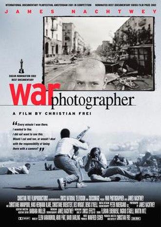 War Photographer - Image: War Photographer poster