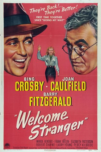 Welcome Stranger (1947 film) - Theatrical release poster