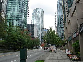 Georgia Street - West Georgia Street