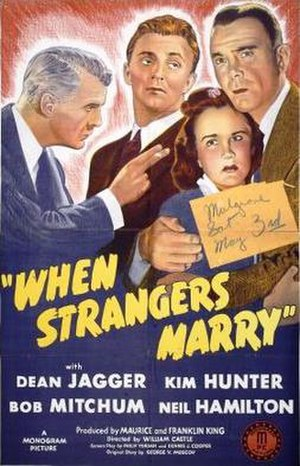 When Strangers Marry - Theatrical release poster