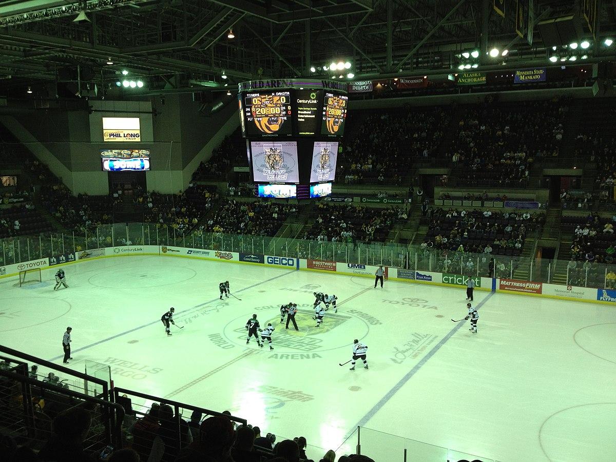 World Arena - Colorado College vs. University of North Dakota (11-30-2012).jpg