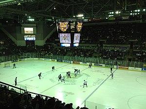 Broadmoor World Arena (1998) - Image: World Arena Colorado College vs. University of North Dakota (11 30 2012)