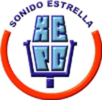 XHEPC-FM - Image: XHEPC sonidaestrella 89.9 logo