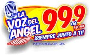 XHEPX-FM - Image: XHEPX La Vozdel Angel 99.9 650 logo