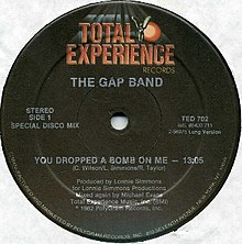 You Dropped a Bomb on Me by The Gap Band US 12-inch vinyl A-side.jpg