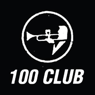100 Club London logo