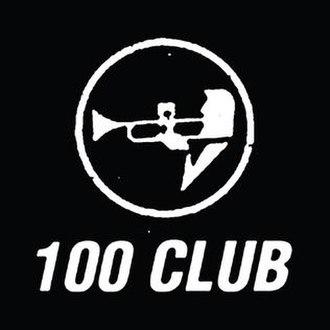 100 Club - Image: 100 Club London logo