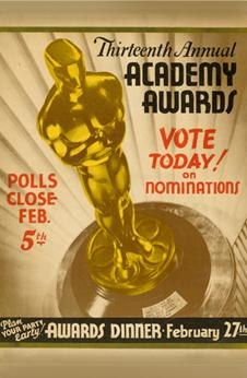 13th Academy Awards poster