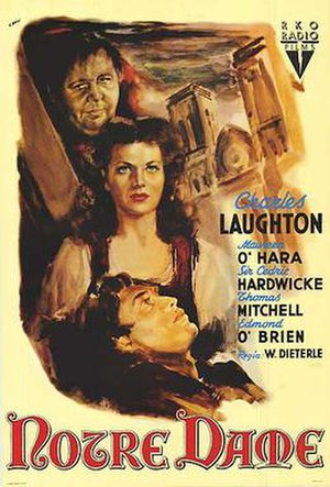 The Hunchback of Notre Dame (1939 film) - Theatrical poster