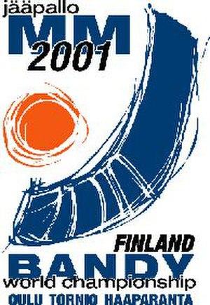 2001 Bandy World Championship - Image: 2001 Bandy World Championship logo