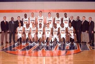 """2004–05 Illinois Fighting Illini men's basketball team - """"2004–05 Fighting Illini men's basketball team"""""""