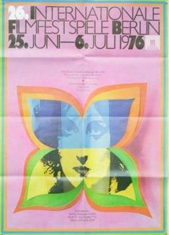 26th Berlin International Film Festival - Festival poster