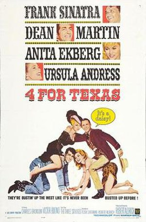 4 for Texas - Theatrical poster