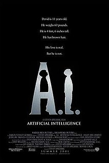 <i>A.I. Artificial Intelligence</i> 2001 science fiction film directed by Steven Spielberg
