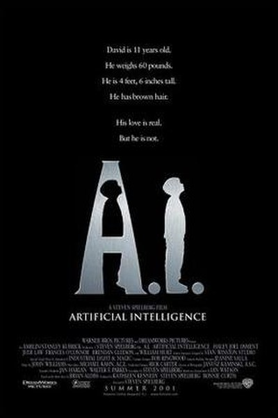 Picture of a movie: Artificial Intelligence: AI