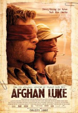 Afghan Luke - Coming soon poster