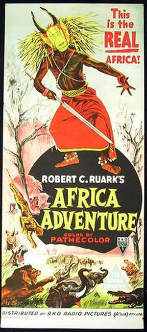 Africa Adventure - Theatrical poster of film