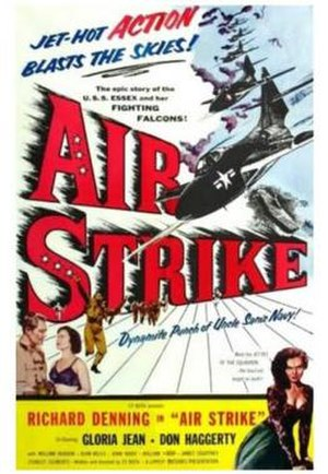 Air Strike (1955 film) - Theatrical film poster