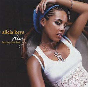 Diary (Alicia Keys song) - Image: Alicia Keys Diary single cover