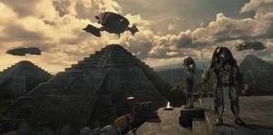 Alien vs. Predator (film) - Image: Alien vs. Predator (film) Predator gods