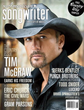 American Songwriter cover May June 2012
