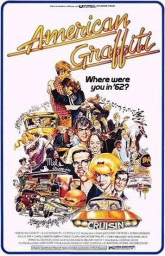 American Graffiti - Theatrical release poster by Mort Drucker