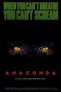 <i>Anaconda</i> (film) 1997 adventure-horror film directed by Luis Llosa