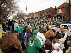 Clayton-Tamm is home to the popular Ancient Order of Hibernians Parade in Dogtown.