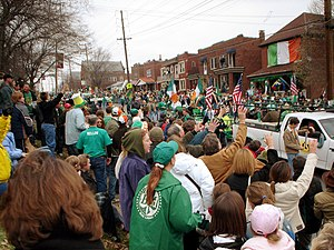 Clayton/Tamm, St. Louis - Clayton-Tamm is home to the popular Ancient Order of Hibernians Parade in Dogtown.