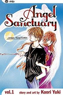 <i>Angel Sanctuary</i> Manga series by Kaori Yuki