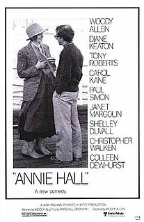 <i>Annie Hall</i> 1977 film by Woody Allen
