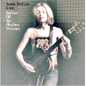 Live: Ballad of an Outlaw Woman - Image: Annmccueballad