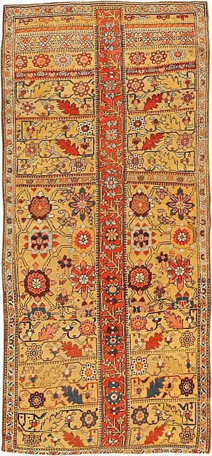 Kurdish rugs - Image: Antique kurdish iran rug 404854