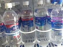 b31d515217 Aquafina FlavorSplash in a grocery store display cooler