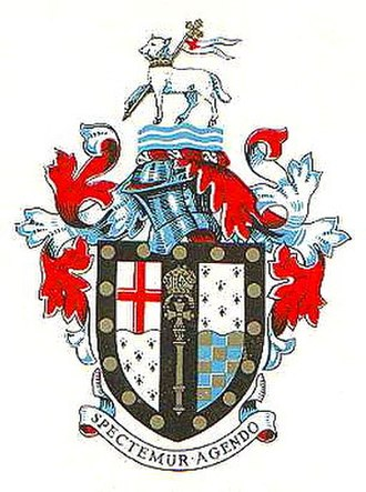 Metropolitan Borough of Lambeth - Image: Arms lambeth mbc