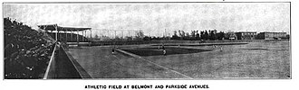 44th and Parkside Ballpark - Image: Athletic Field Belmont Parkside