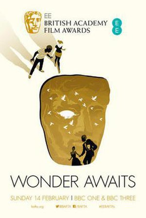 69th British Academy Film Awards - Image: BAFTA Film Awards Poster 2016