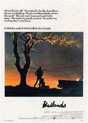 Badlands (film) - Badlands promotional poster