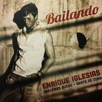 Bailando (Enrique Iglesias song) - Image: Baialndo Spanish edition