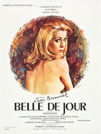 Belle de Jour (film) - Theatrical release poster