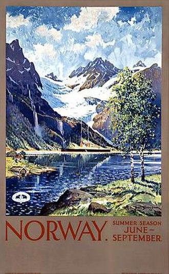 Benjamin Blessum - Travel poster designed by Ben Blessum, 1930