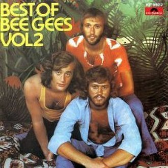 Best of Bee Gees, Volume 2 - Image: Bestofbeegeev 2