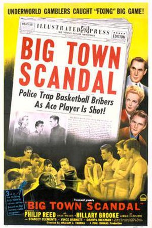 Big Town Scandal - Theatrical release poster